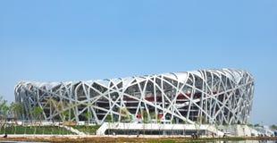 Het olympische stadion van Peking Stock Fotografie