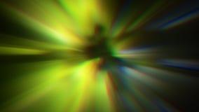 Het omzetten van futuristische flikkerende achtergrond sc.i-FI van de gegevens de lichte tunnel stock videobeelden