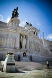 Het onbekende gedenkteken van de Militair in Rome, Italië. Stock Afbeeldingen
