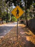 Het onbekwaamheidswaarschuwingsbord stock fotografie