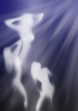 Het onder ogen zien van het licht stock illustratie