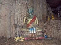 Het ondergrondse hol van Thamloup, Laos royalty-vrije stock foto