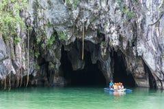 Het ondergrondse Nationale Park van de Rivier Royalty-vrije Stock Fotografie