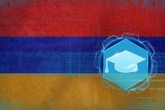 Het onderwijs van Armenië Universitair concept Stock Foto