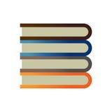 Het onderwijs van de boekbibliotheek Stock Foto's