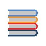 Het onderwijs van de boekbibliotheek Stock Fotografie