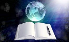 Het onderwijs van Internet Stock Fotografie
