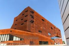 Het onderwijscentrum van de Universiteit van Wenen van Economie en Zaken Stock Afbeelding
