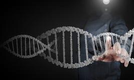 Het onderzoek van de biochemie stock afbeelding