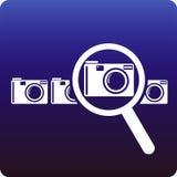 Het onderzoek van de camera Stock Afbeelding