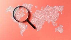 Het onderzoek van de concepteninformatie royalty-vrije stock afbeelding