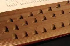 Het onderzoek van het woordenboek Stock Afbeeldingen