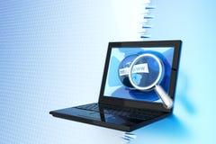 Het onderzoek van Internet Stock Fotografie