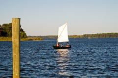 Het onderzoeken op de Chesapeake Baai stock fotografie