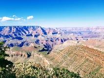 Het onderzoeken van Grand Canyon Arizona de V.S. stock foto