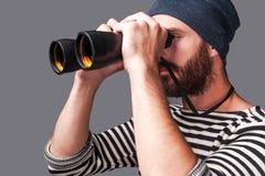 Het onderzoeken van nieuwe plaatsen Royalty-vrije Stock Afbeelding