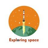 Het onderzoeken van ruimte Stock Fotografie