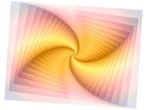 Het ondoorzichtige Spiraalvormige Patroon van het Vuurrad Royalty-vrije Stock Fotografie