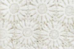 Het onduidelijke beeld breit garenstof voor patroonachtergrond Royalty-vrije Stock Afbeeldingen