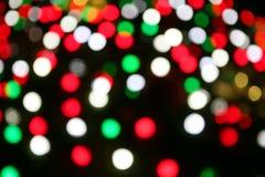 Het onduidelijke beeldachtergrond van Kerstmis Royalty-vrije Stock Foto's