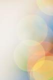 Het onduidelijke beeldachtergrond van kleurenlichten Stock Foto's