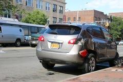 Het ongeval van de auto Royalty-vrije Stock Afbeeldingen