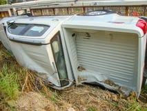 Het ongeval van de auto Royalty-vrije Stock Foto's