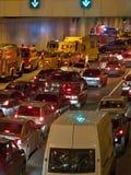 Het ongeval van de weg Stock Fotografie