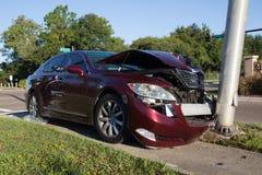 Het ongeval van het autoverkeer Royalty-vrije Stock Fotografie