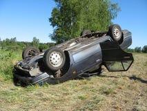 Het ongeval van het verkeer Royalty-vrije Stock Afbeelding