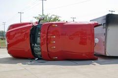 Het ongeval van het voertuig Stock Afbeeldingen