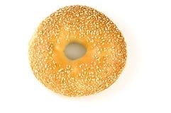 Het ongezuurde broodje van de sesam Royalty-vrije Stock Fotografie