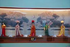 Het ongrijpbare cultureel erfgoed van China stock afbeelding