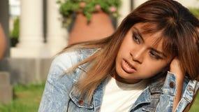 Het onrustbarende Wijfje van Latina Royalty-vrije Stock Foto