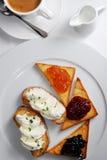 Het ontbijt Royalty-vrije Stock Foto