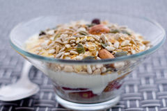 Het Ontbijt van de gezondheid royalty-vrije stock afbeelding