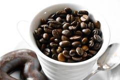 Het ontbijt van de koffie Royalty-vrije Stock Foto's