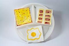 Het ontbijt van de moeder `s Royalty-vrije Stock Afbeeldingen