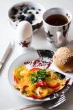 Het ontbijt van de ochtend royalty-vrije stock fotografie