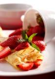 Het ontbijt van de ochtend Stock Fotografie