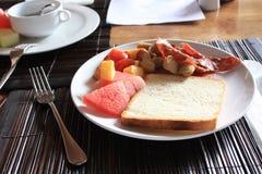 Het Ontbijt van de voeding Royalty-vrije Stock Foto's
