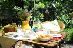 Het Ontbijt van de zomer stock foto's