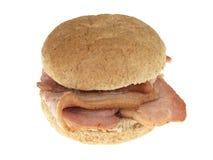 Het Broodje van het bacon Royalty-vrije Stock Foto's