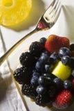 Het Ontbijt van het fruitgebakje met Koffie royalty-vrije stock afbeelding