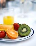 Het ontbijt van het hotel royalty-vrije stock foto's
