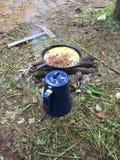 Het ontbijt van het land Stock Afbeeldingen