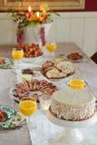 Het Ontbijt van Kerstmis Stock Foto