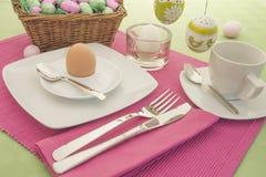Het Ontbijt van Pasen Stock Afbeelding