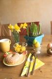 Het ontbijt van Pasen Stock Foto's