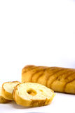 Het ontbijtvoedsel van het brood Royalty-vrije Stock Fotografie